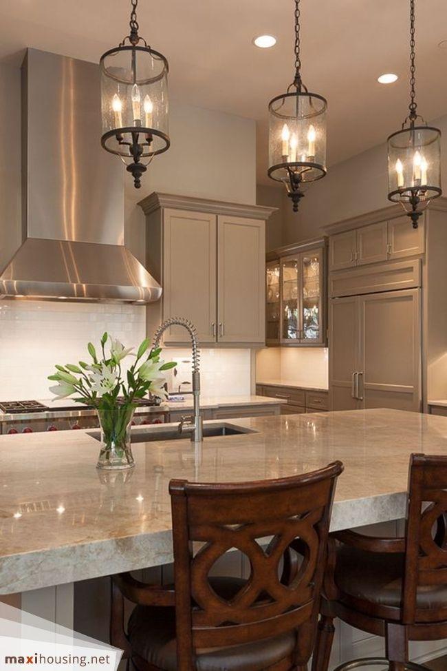 Pin de Roxanne Kuehnel en lighting | Pinterest | Cocina blanca ...
