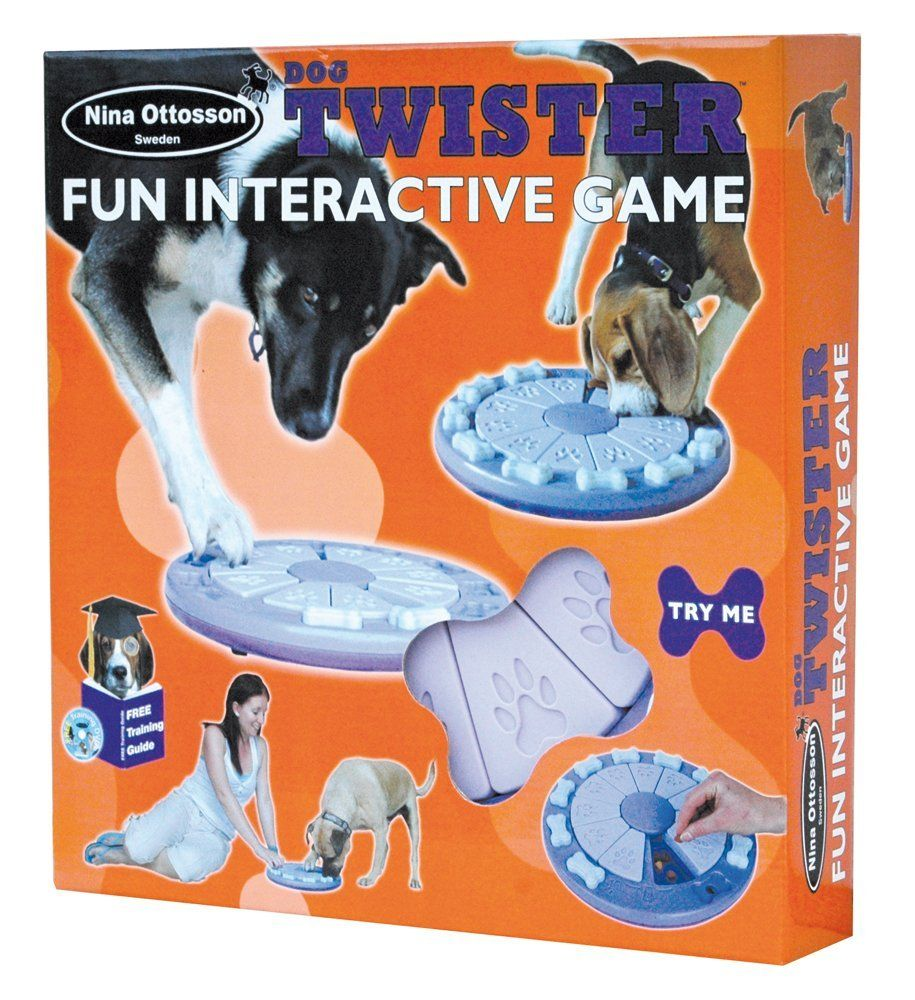 Nina Ottosson Dog Twister Activity Toy Amazon Co Uk Pet Supplies