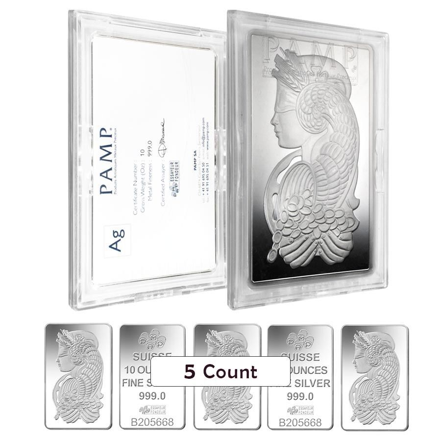In Assay Box of 25-1 gram PAMP Suisse Lady Fortuna Platinum Bar .9995 Fine