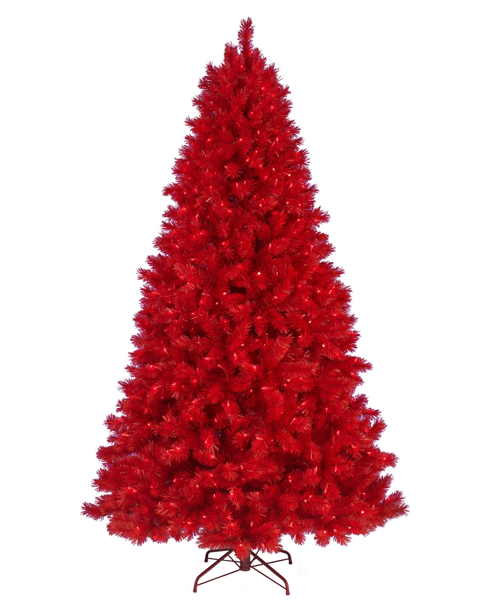Lipstick Red Christmas Tree Red Christmas Tree Artificial Christmas Tree Colorful Christmas Tree
