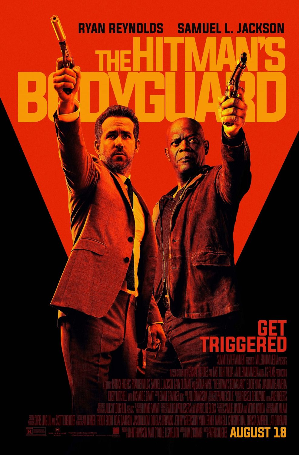 Return To The Main Poster Page For The Hitman S Bodyguard 4 Of 4