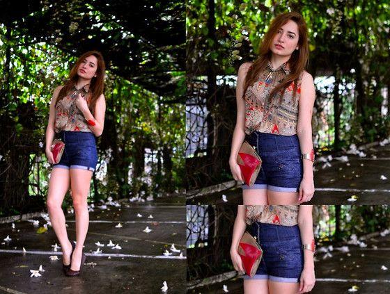 Giftsahoy Bangle, Top Shop Shorts, Because I Like It Flats