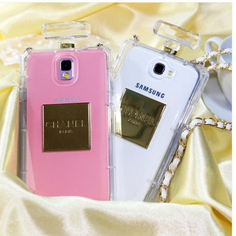 chanel perfume bottle phone case samsung galaxy note s2