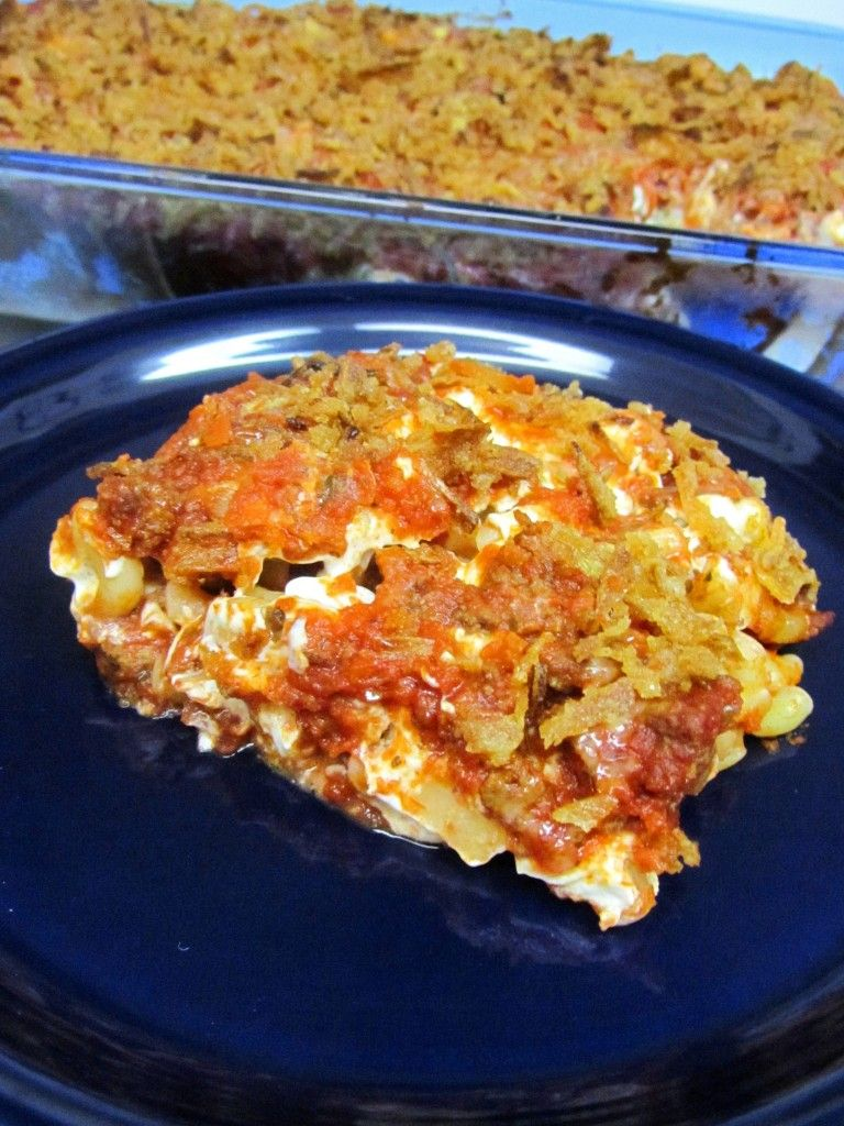 """***Scooter's Spaghetti*** I loved this baked spaghetti recipe. I'm calling it """"hillbilly sketti"""""""