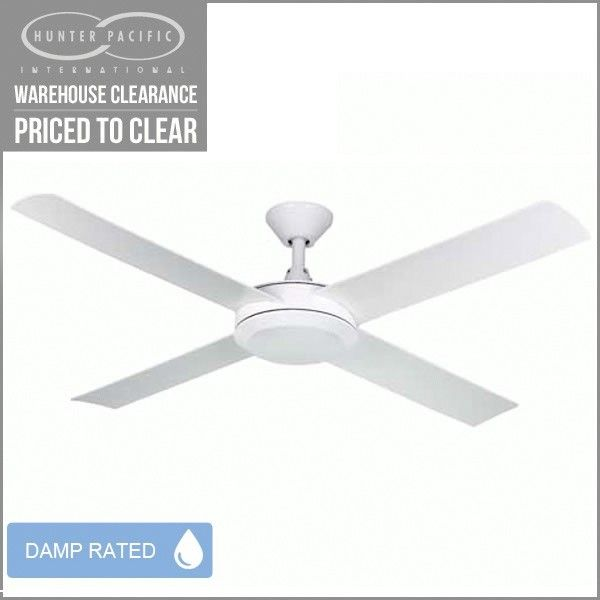 Hunter Pacific Eco2 Ceiling Fan White 52 Fansonline
