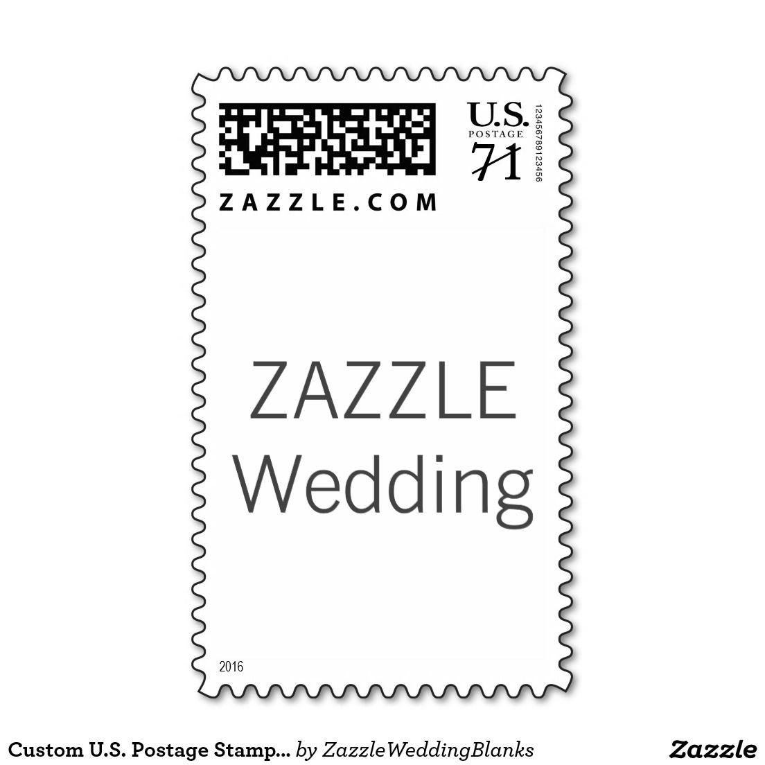Custom U.S. Postage Stamp 1st Class Letter 1oz Odd