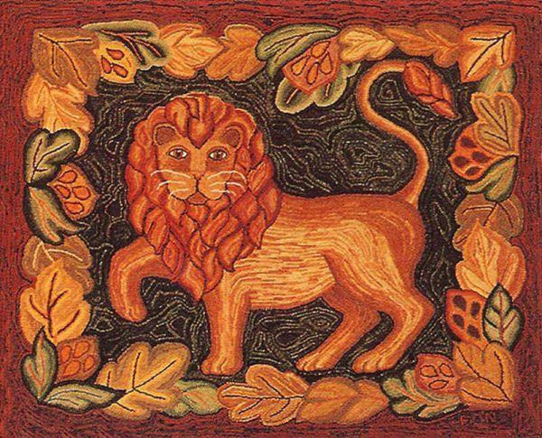 Image- Lion by Edyth O'Neill