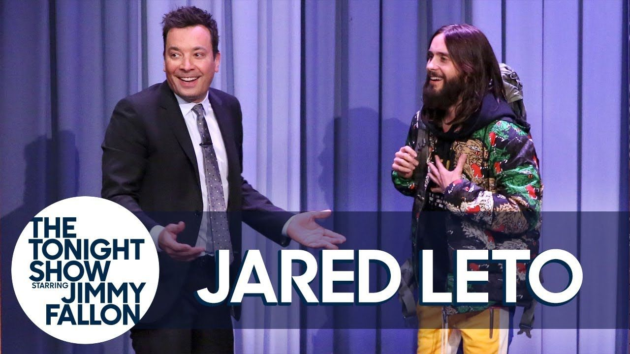 Jared leto hitchhikes through the tonight show youtube