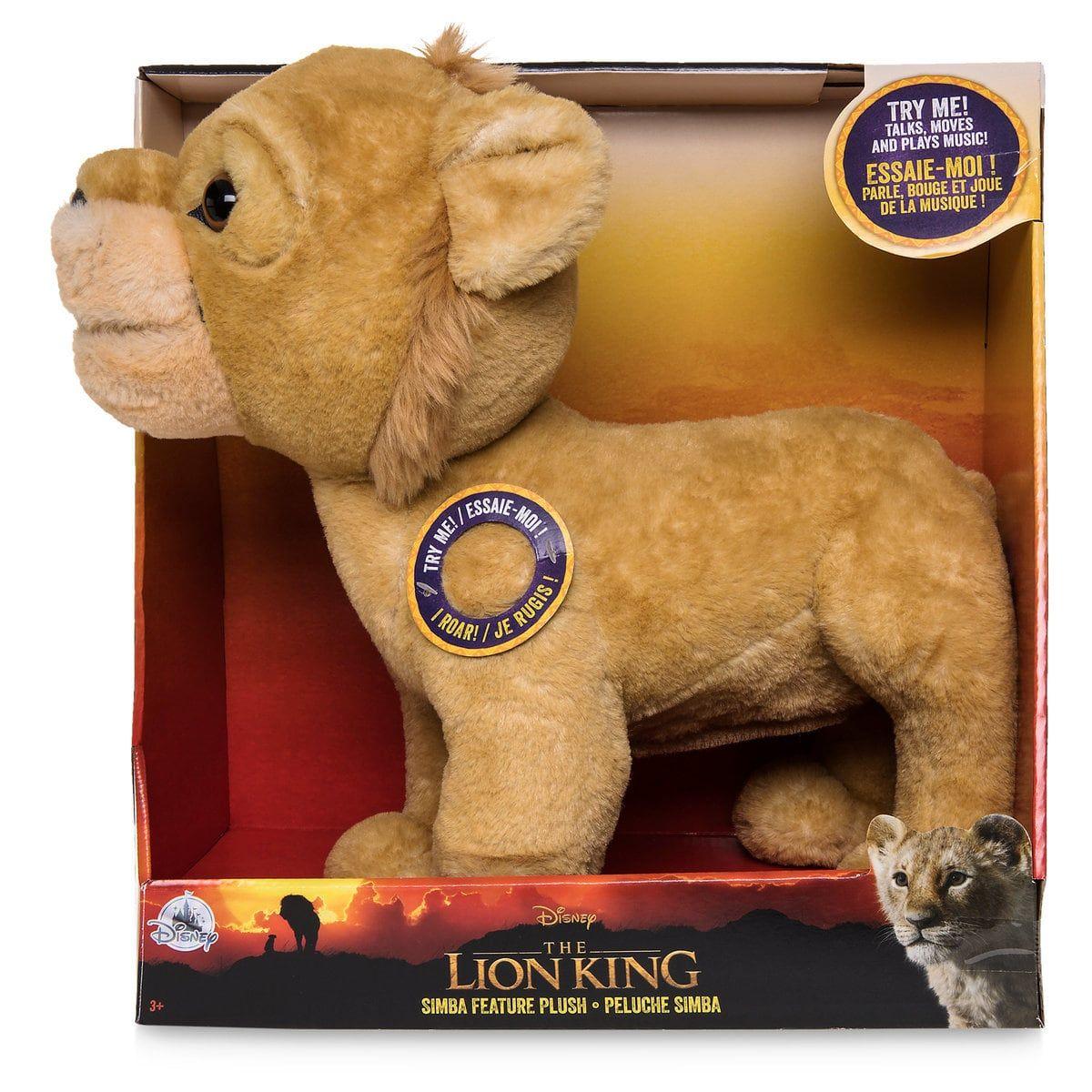Simba Talking Plush The Lion King 2019 Tiere Stofftiere Disney