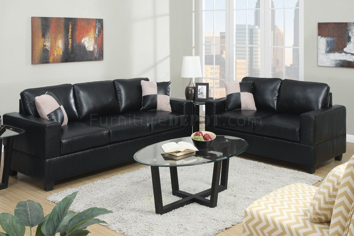 White Faux Leather Sofa Set In 2020 Sofa And Loveseat Set