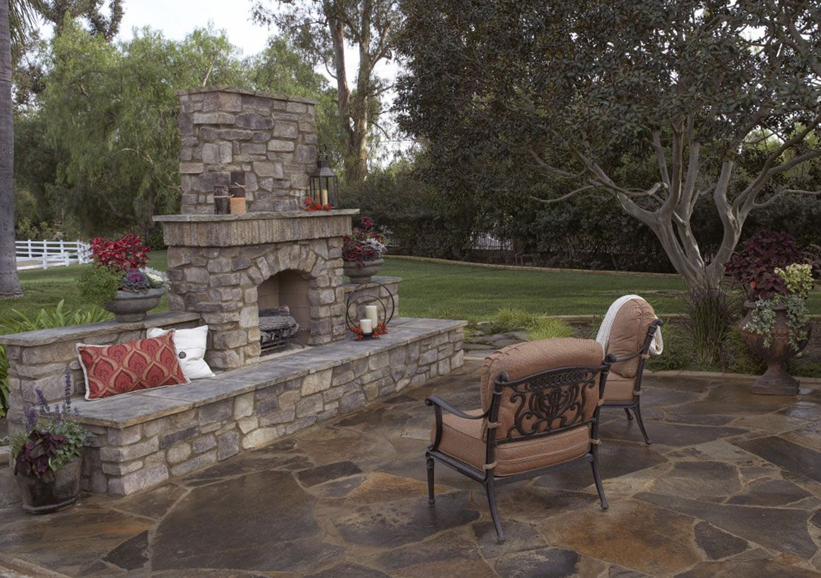 Outdoor Fireplace For details and additional information on