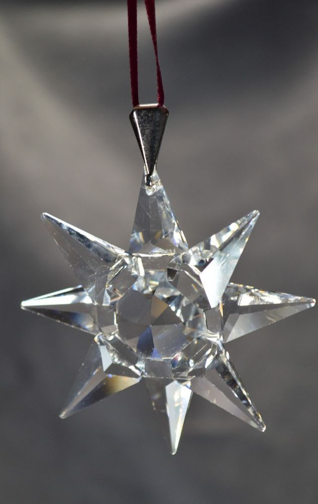 3668ff0d4 Details about 1991 Holiday Ornament Swarovski First Of It's Kind ...