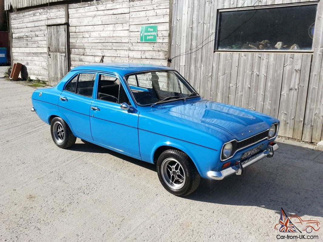 Ford Escort Mk1 4 Door 1600 Tax exempt 1970 Photo | Dream Cars ...