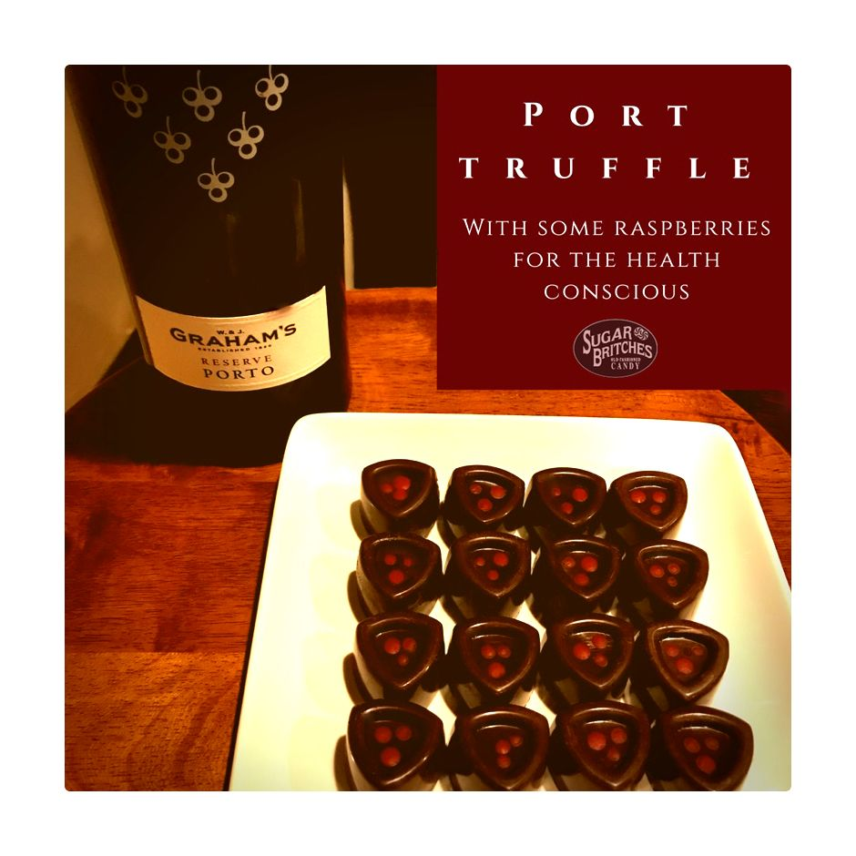 Chocolate And Port Wine Truffles Wine Truffles Truffles Candy Store