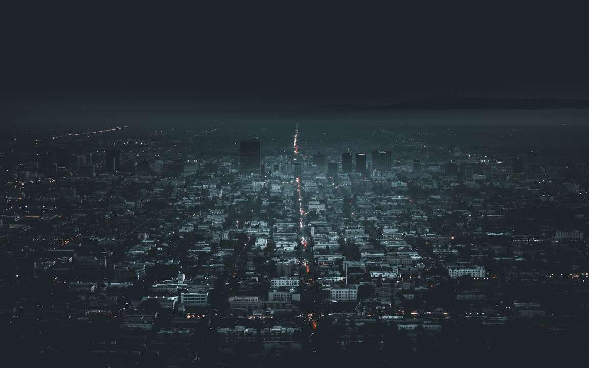 Download Wallpaper 3840x2400 Night City Aerial View City Lights Los Angeles Usa 4k Ultra Hd 16 10 Hd Los Angeles Wallpaper Los Angeles Cityscape Night City