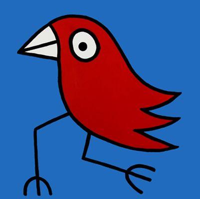 Hans Langner (The Birdman) | Kunst | Kunstunterricht malen ...  Hans Langner (T...