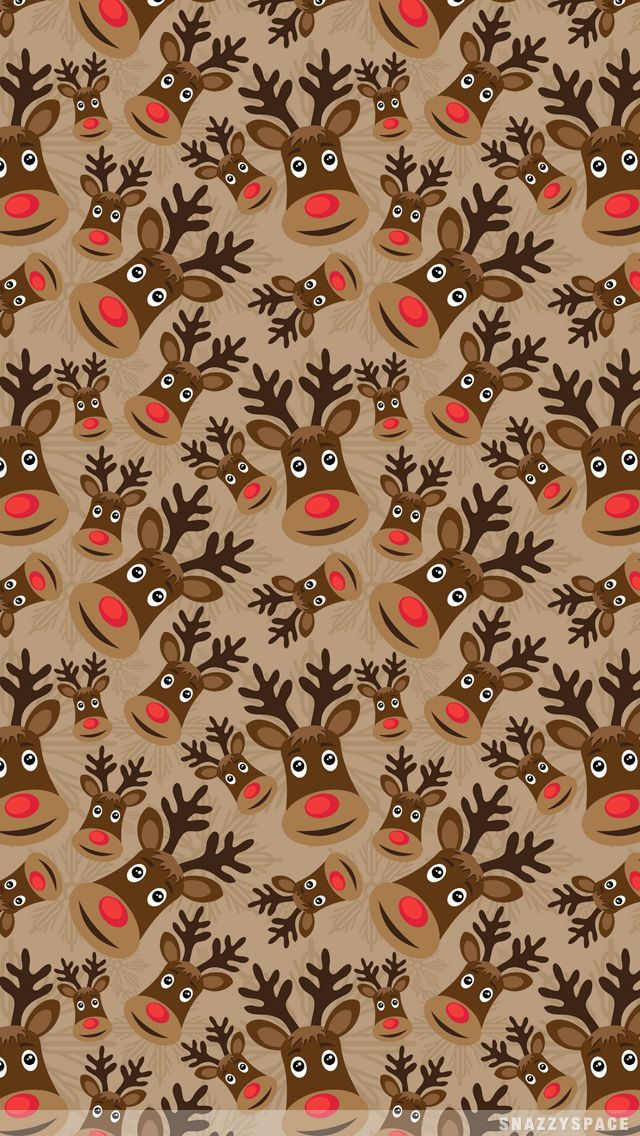 reindeer wallpaper iphone – Google Search – Jeanne B #christmaswallpaperiphone