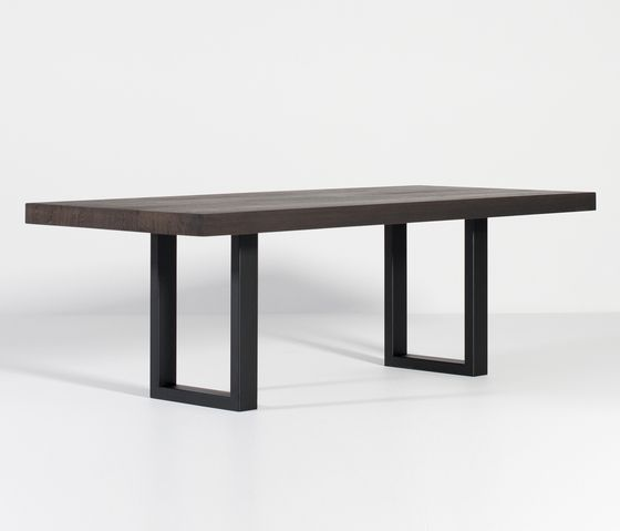 X-Y-Z by Van Rossum Raster dining table X-Type dining