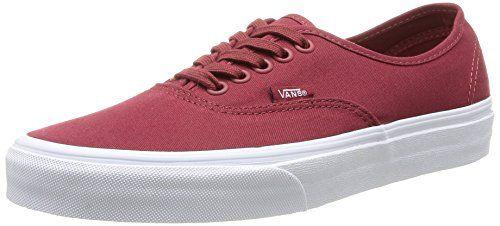 Vans Unisex Authentic Mono Sun Dried Tomato Skate Shoe 85 Men US 10 Women  US *** Read more at the image link.