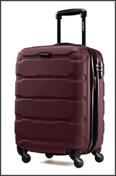 Samsonite Omni PC Hardside 20-Inch Spinner - one of the best carry-on  suitcases 0bec3dcc2b85e