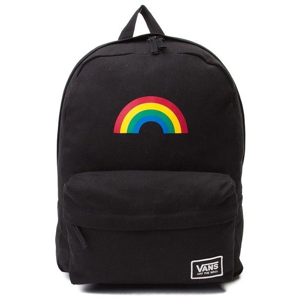 ce34c37cd4747f Vans Realm Classic Rainbow Backpack ❤ liked on Polyvore featuring bags