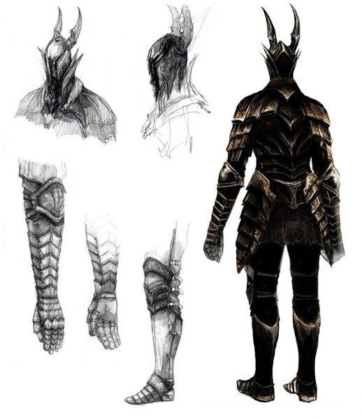 Dark Souls Character Design Process : Black knight dark souls prepare to die edition the
