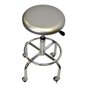 Trinity 26 In Aluminum Work Stool Tbf 1601 With Images Stool