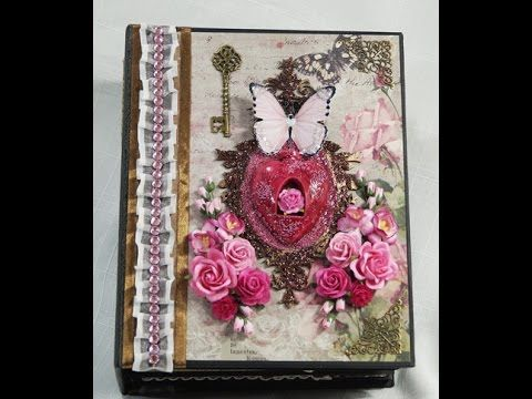 Blue Fern Frolic Mini Album Reneabouquets DT project - YouTube