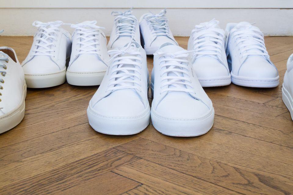 Choisir une paire de baskets blanches spéciales homme | Sac