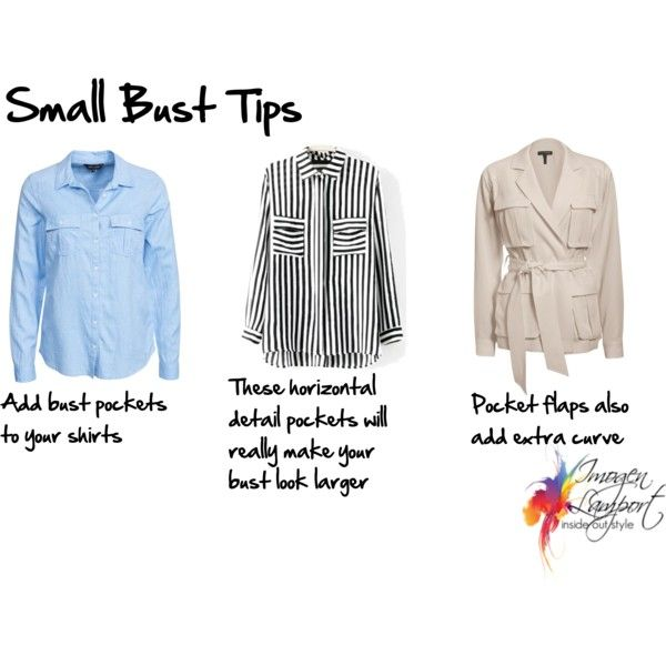 Small bust tips pockets by imogenl on Polyvore featuring Mode, New Look and Exclusive for Intermix