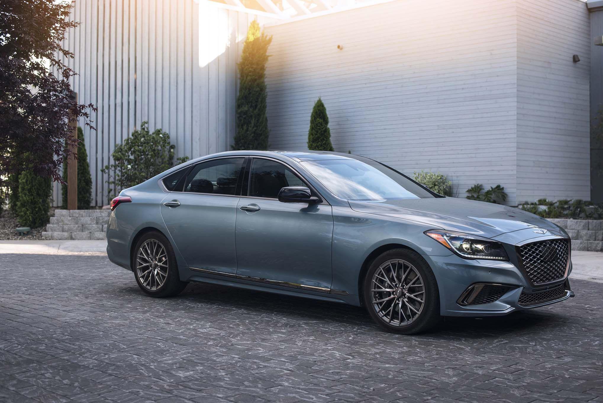 Genesis G80 Sport New Luxury Cars Hyundai Genesis Luxury Cars