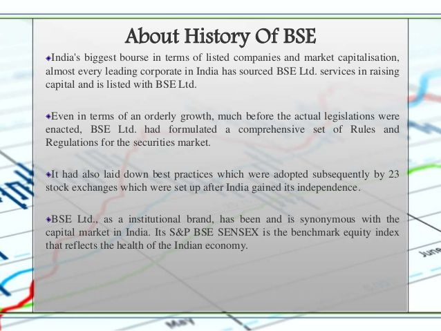 About History Of Bse Raising Capital Listed Company Capital Market