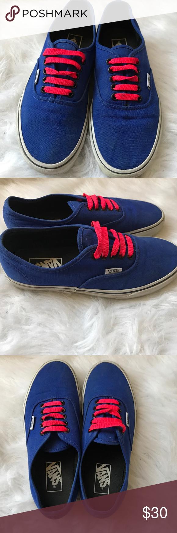 7b96a6b1586ff8 EUC unisex Vans no flaws Ladies size 8 kids 6.5 EUC classic vans Vans Shoes  Sneakers