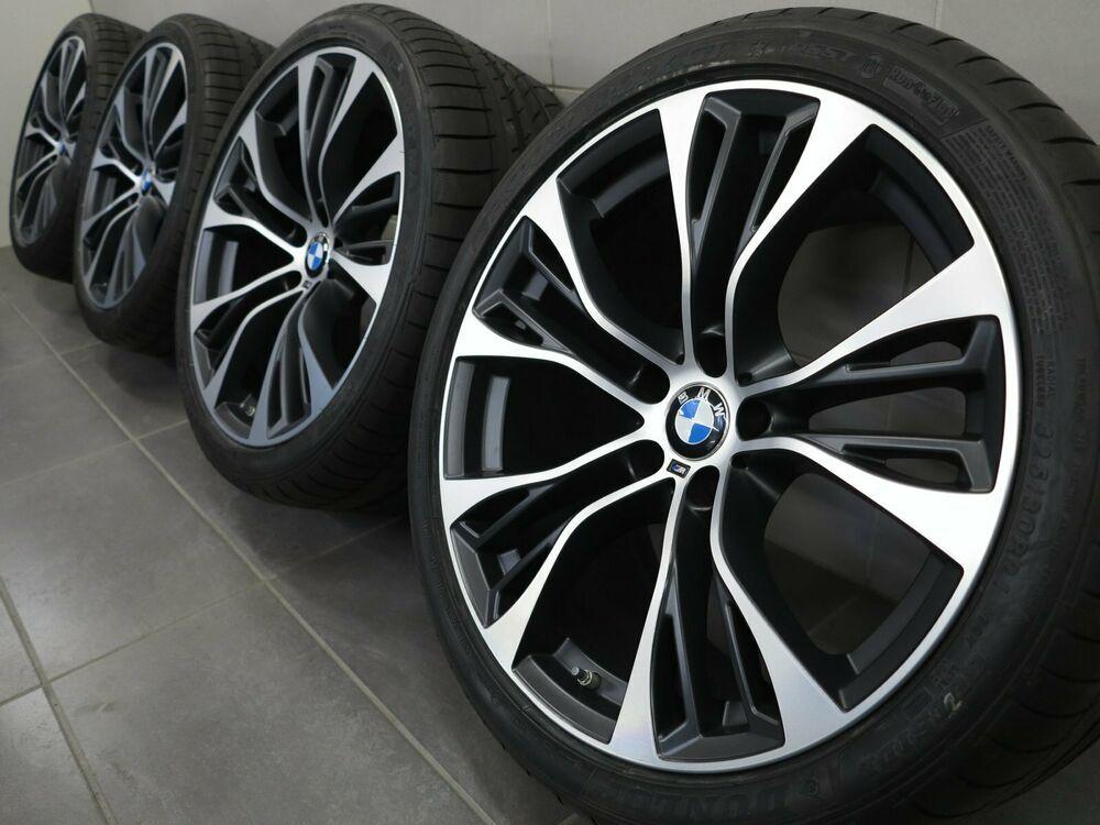 Advertisement Ebay 21 Inches Original Summer Wheels Bmw X5 F15 X6 F16 M599 Rims 6859423 24 New Bmw Bmw X5 Wheel