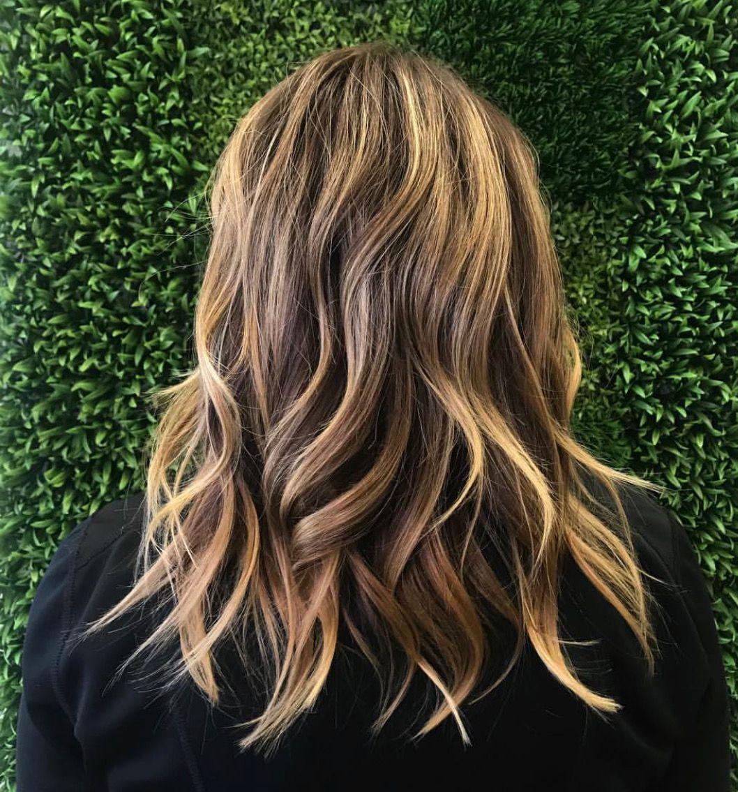 Shoulder Length Blonde Balayage Best Hair Salon Hair Shoulder Length Blonde