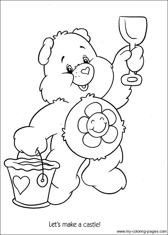 Care Bears Coloring055 Crafty