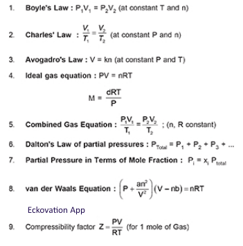 Important Formulas For Jee Mains Chemistry Engineering Chemistry Learn Japanese Words Chemistry Lessons