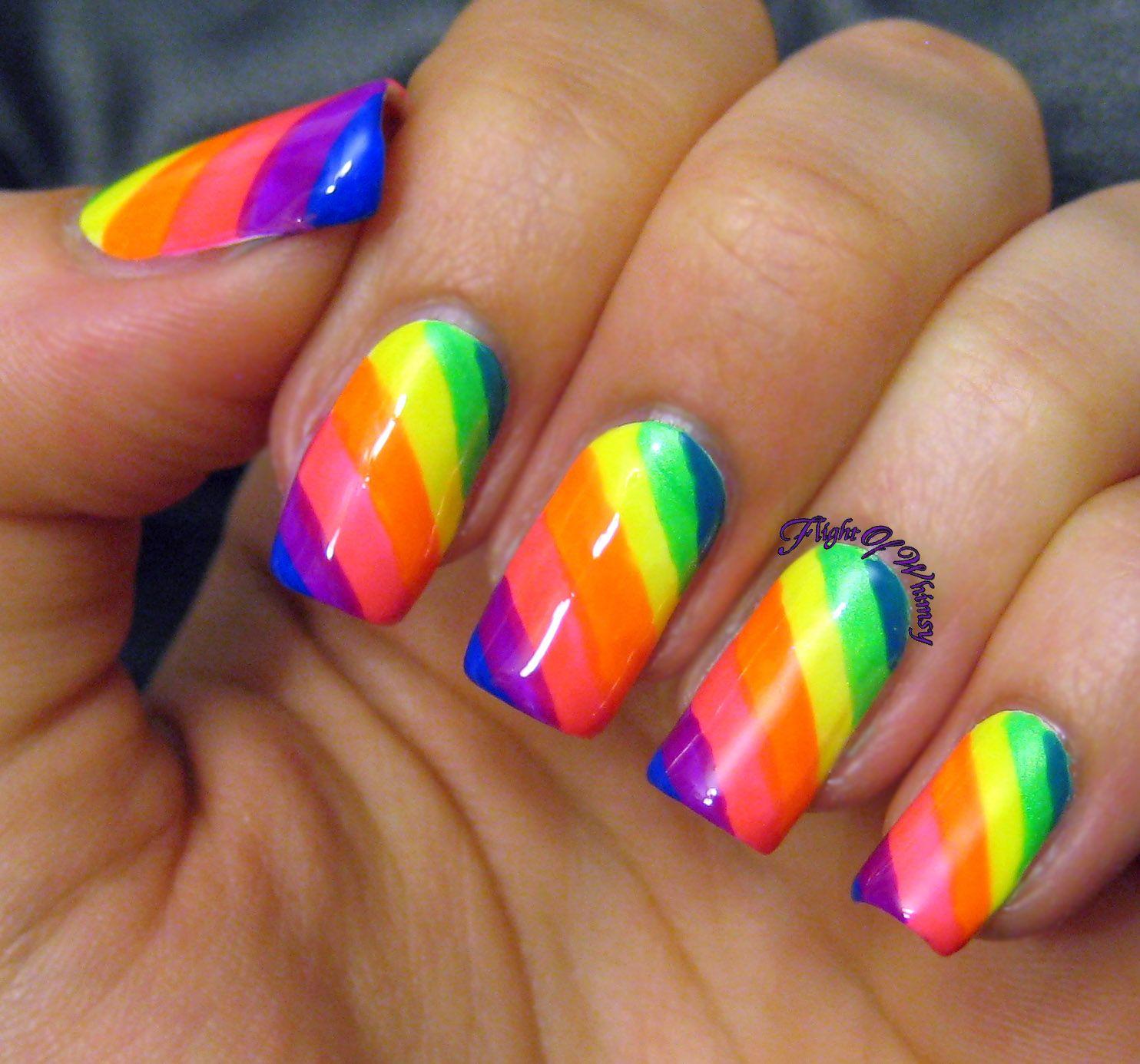 Neon Rainbow   Neon and Rainbows