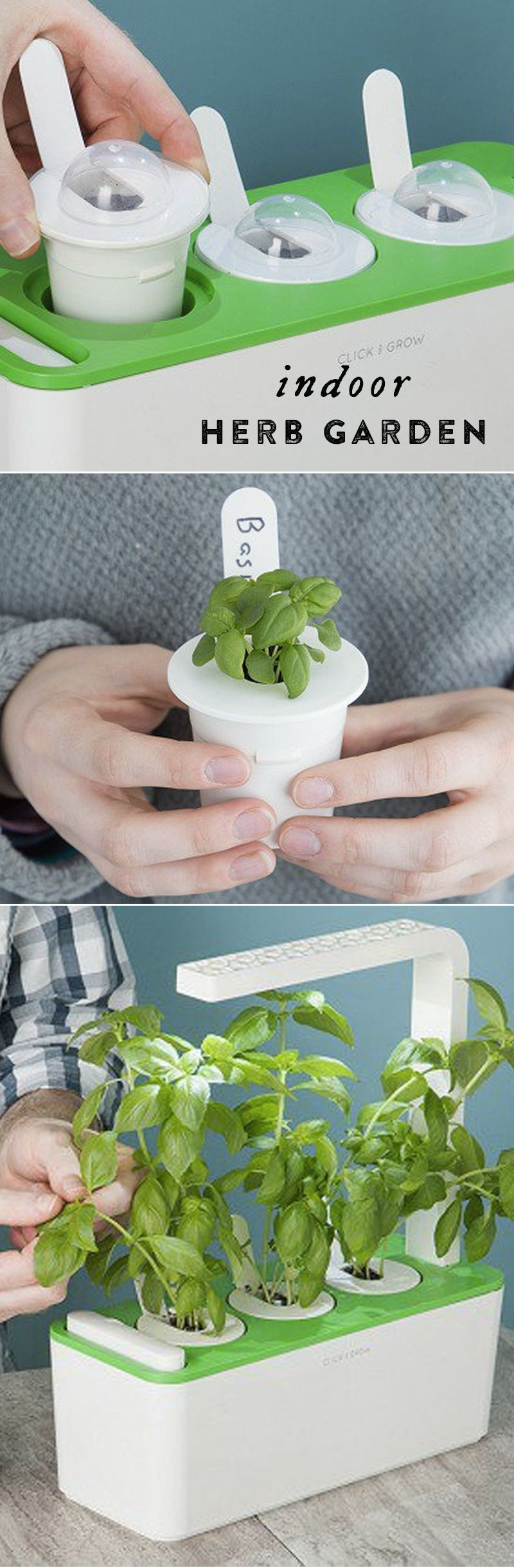 Grow An Herb Garden Indoors—With No Guesswork Or Sunlight 400 x 300