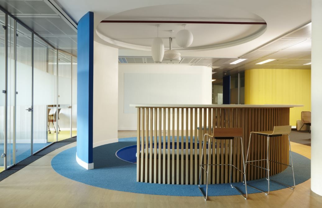 Coworking Endesa by 3g office #oficinas #workplace #office Design