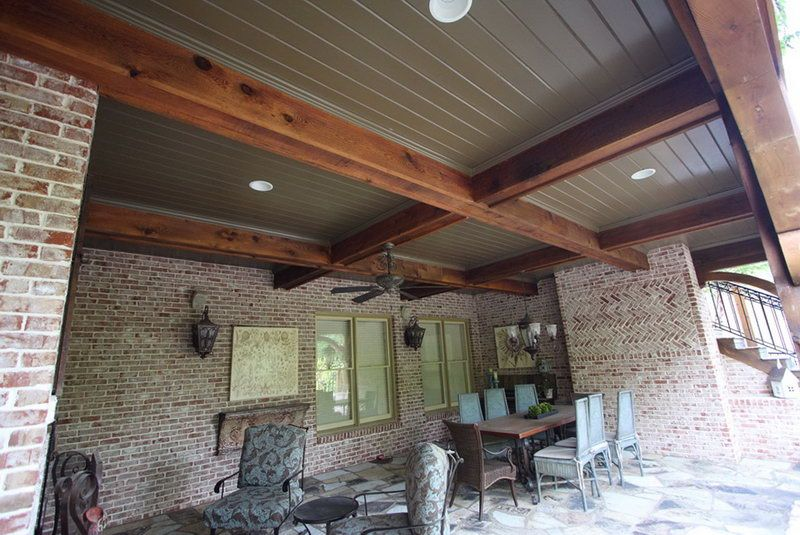 Nice Porch Ceiling Material Options