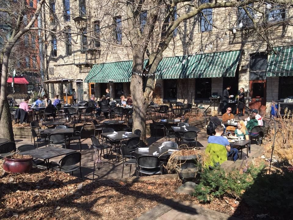 Brunch On The Patio! Is It Really March   WA Frost U0026 Company