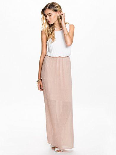 Long Dress (pink&white)