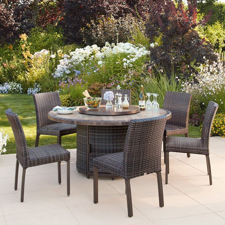 32 Reference Of Round Patio Dining Set Cover In 2020 Patio