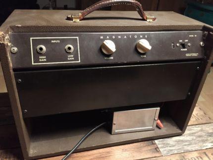 1959 Magnatone 111 in Nordrhein-Westfalen - Herten | Musikinstrumente und Zubehör gebraucht kaufen | eBay Kleinanzeigen