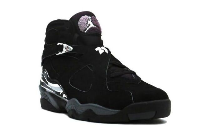 cheap for discount 1d4b1 aa6e7 Air Jordan 8 (VIII) Retro-Black Chrome Shoes achieve the goal of lightening  the weight which is strenghtened by reducing the rubber material and towel  ...