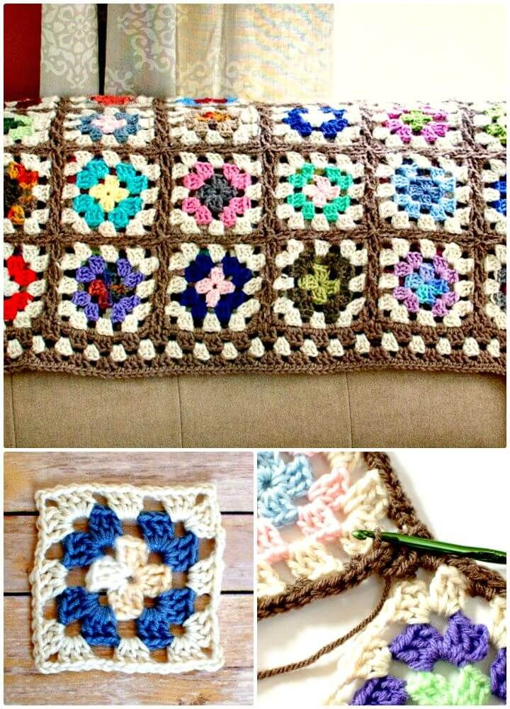Crochet Afghan Patterns - 41 Free Patterns for Beginners | Colcha de ...