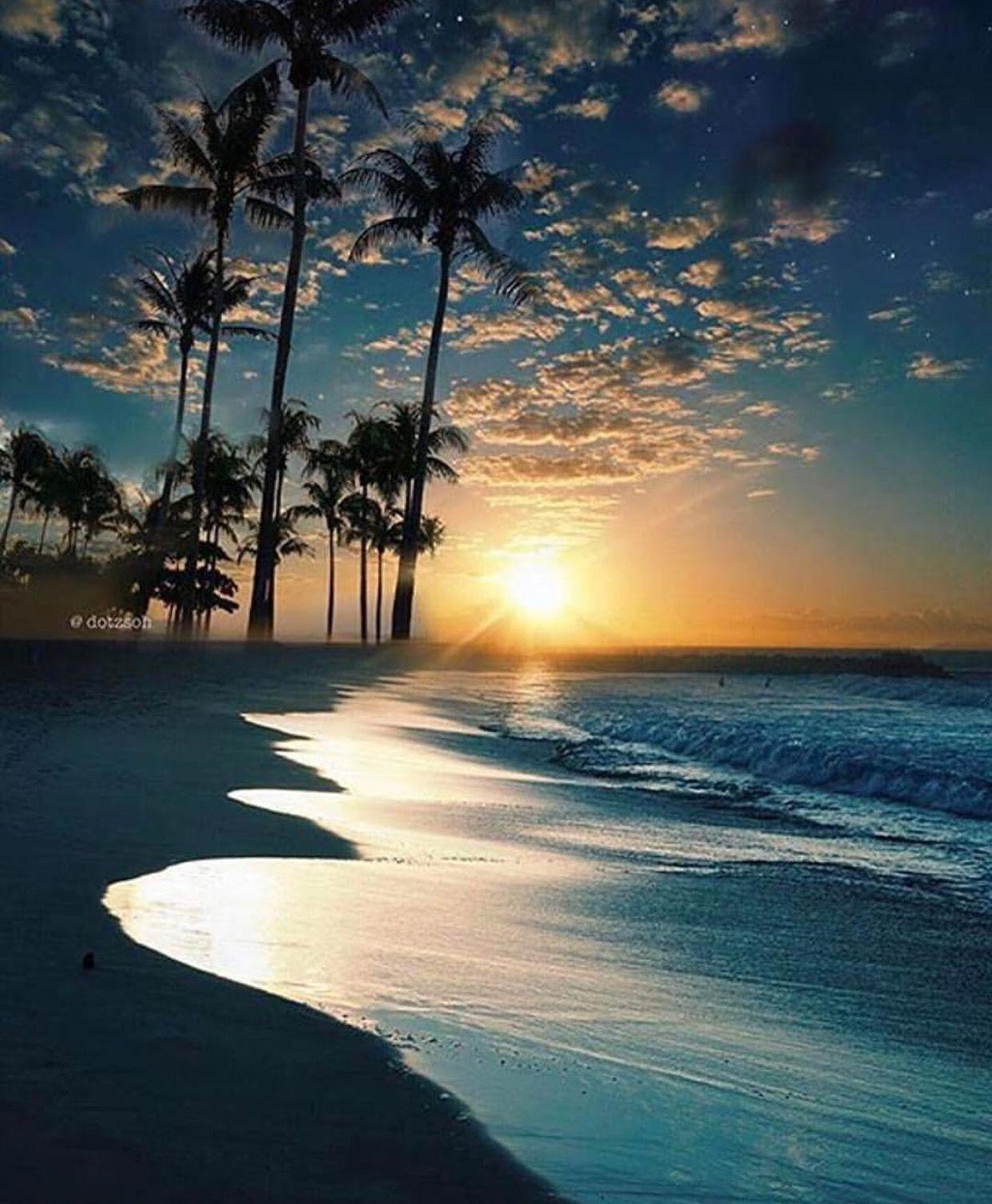 Sunset At The Beach Singapore Paisagem Romantica Lindas Paisagens Fotografia De Paisagem