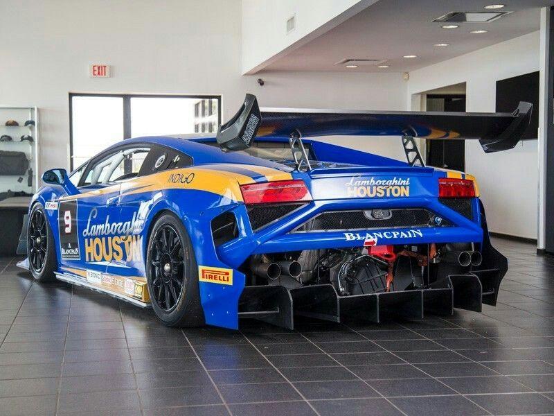 2013 Lamborghini Gallardo Super Trofeo Race Car Rare Cars For