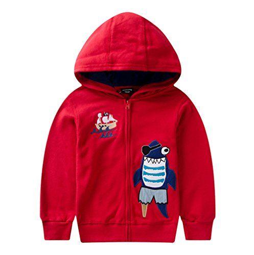 Tortor 1Bacha Kid Girl Boy Fashion Hooded Sleeveless Cardigan Vest